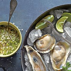 Green Apple Mignonette | Pair this bright condiment, inspired by the new wave of fancy raw bars who make tart sauces with everything from cucumbers to rhubarb, with any fresh oyster on the half shell.