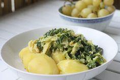 Food and Fotos - life of a vegan: Wirsing und Kartoffeln - ein typisches Herbst-Winteressem