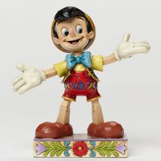 Enesco Disney Traditions by Jim Shore  Got no strings - Pinocchio figurine (Jim Shore)