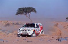 Mitsubishi Shogun rally raid car