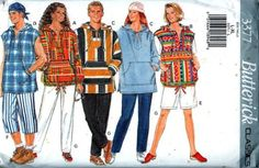 1990S HOODIE FASHION painted