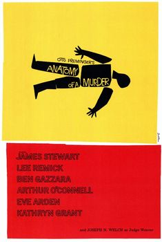Anatomy of a Murder movie poster