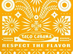 Taco Cabana by Steve Wolf - Dribbble Mexican Graphic Design, Minimalist Graphic Design, Mexican Designs, Stationary Branding, Vintage Branding, Bakery Logo Design, Branding Design, Steve Wolf, Badge Design