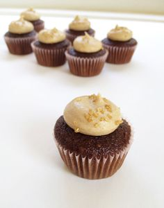 Easy Caramel Buttercream Frosting - one of the best buttercreams I've had! It is super easy, and the recipe for the caramel sauce itself would be wonderful on lots of other things.