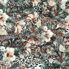 2kdesign21 #seamles #pattern #fashion #moda #digital #interior #patternbank #animal #print #skin #leopard #floral