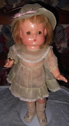 Effanbee All Original Wigged Patsy Composition Doll