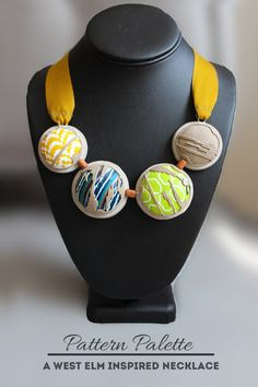 Pattern Palette – Necklace | VeruDesigns, LLC