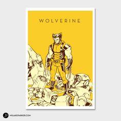 Wolverine Print - Mr Jake Parker