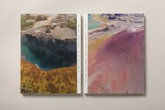 Olafur Eliasson: Pentagonal Landscapes exhibition catalogue. book design editorial design  cover spine