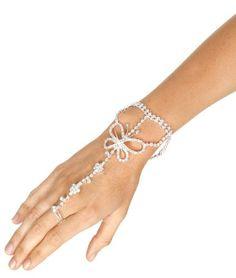 Butterfly slave bracelet