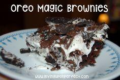 "Recipe for ""Magic"" Oreo Brownies"