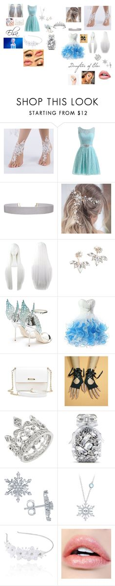 """Modern Elsa / Daughter of Elsa"" by hexthrone on Polyvore featuring Humble Chic, Sophia Webster, Van Cleef & Arpels, Victoria's Secret, Disney, Linni Lavrova, modern, disney, frozen and everafterhigh"