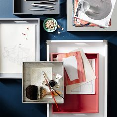 How To Style A Tray For Your Office | west elm
