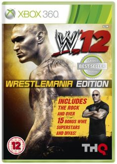 From 1.45 Wwe 12: Wrestlemania Edition (xbox 360)