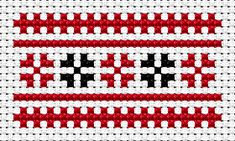 Cross Stitch Borders National motives, free cross stitch patterns and charts - www. Peyote Patterns, Beading Patterns, Embroidery Patterns, Cross Stitch Patterns, Butterfly Embroidery, Learn Embroidery, Cross Stitch Embroidery, Cross Stitch Boards, Embroidery Techniques