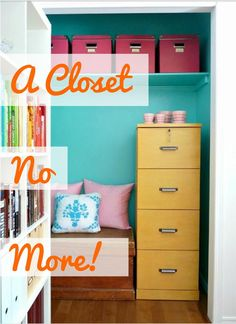 8 Closets That Were Turned Into Something Totally Different