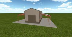Cool 3D #marketing http://ift.tt/2vzL7tb #barn #workshop #greenhouse #garage #roofing #DIY