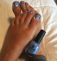 Fall pedicure