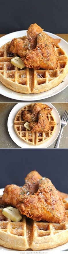 Recipe: Roscoe's House Of Chicken And Waffles Fried . Where Did Chicken And Waffles Originate. Copycat Roscoes Chicken And Waffles Recipe Yum! Home and Family Tapas, Southern Breakfast, Breakfast Recipes, Dessert Recipes, Waffle Recipes, Cooking Recipes, Beef Recipes, What's Cooking, Gastronomia