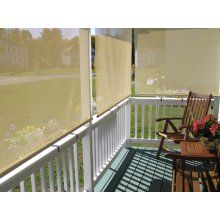 Exterior Solar Window Shades - Premade or Custom sized. Long Lasting protection from the Sun or Privacy on you Deck, Patio, Pergola, Gazebo and more.