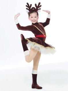 Prancer - Revolution Dancewear - US Christmas Character Costumes, Christmas Dance Costumes, Christmas Tutu, Jazz Dance Costumes, Holiday Costumes, Ballet Costumes, Rudolph Costume, Figure Skating Dresses, Costume Collection