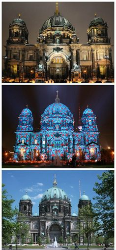 Built in 1905 in Neo-Renaissance building Berlin Cathedral (BerlinDom), which previously was Hohenzollern royal palace church, his family members are buried here in the basement. Places Around The World, The Places Youll Go, Places To See, Around The Worlds, Amsterdam, Festival Of Lights Berlin, Berlin Ick Liebe Dir, Destinations, Central Europe