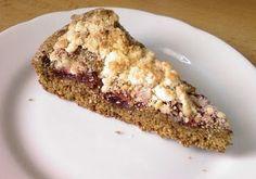 Ořechový celozrnný dort s domácí marmeládou / Zápisky a recepty jedné VEGETARIÁNKY: Recepty z mé kuchyně XV.