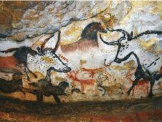 Színek és foltok Lascaux Cave Paintings, Drawing Now, Large Animals, Drawings, Dogs, Twitter, Teenagers, Ceilings, Professor