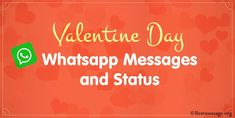 Valentines Day WhatsApp Messages and Wishes. Romantic Valentine's Day WhatsApp Messages and Whatsapp Status for BF, GF, Wife, Husband and Friend to wish them. Best Valentine Message, Valentine Status, Valentine Wishes, Valentines Day Messages, Happy Valentines Day, Whatsapp Message, Pick One, Romance, Husband