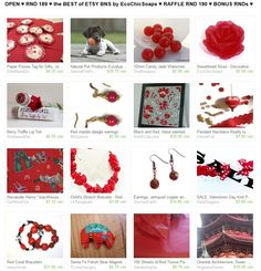 OPEN ♥ RND 189 ♥ the BEST of ETSY BNS by EcoChicSoaps ♥ RAFFLE RND 190 ♥ BONUS RNDs ♥  Please join us at  http://www.etsy.com/treasury/MTI4MzMwMjh8MjU2NTYxMjczMA/open-rnd-189-the-best-of-etsy-bns-by