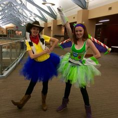 Woody and Buzz Lightyear Halloween Costumes