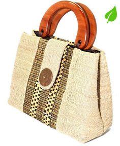 100% natural and environmentally friendly bag ~ Kugati