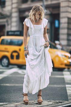 Alexandra Spencer wears Spell Designs Boho Bella Dress