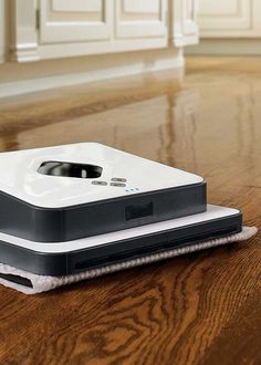Dust and mop floors with hands-free ease!