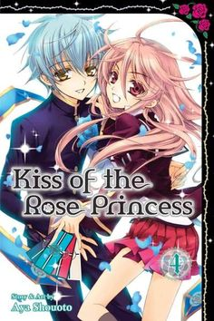 "Buy Kiss Of The Rose Princess (manga) Vol. 04 by Aya Shouoto at Mighty Ape NZ. High school student Anise Yamamoto is the ""Rose Princess"" who commands four handsome knights. She is quickly trying to fix the Demon Lord's seal to fr. Musaigen No Phantom World, Princess Stories, Manga Story, Online Manga, Kaichou Wa Maid Sama, Yandere Simulator, Anime Kawaii, Cartoon Movies, Anime Artwork"