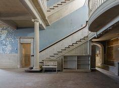 Abandoned Plantation Foyer   Virginia