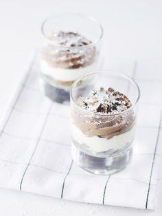 chocOlate nut trifles