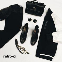 Comenzó el año: ¡Volvieron los after office!  ➡ Campera Nike ➡ Cartera Forever 21 ➡ Botas cuero ➡ Collar ➡ Vestido