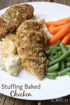 how to make chicken stuffing nz