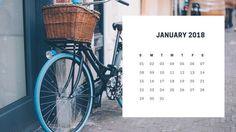 Simple Vintage Photo Calendar