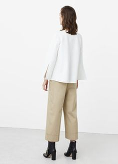 Cotton crop trousers