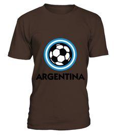 Football crest of Argentina Hoodies