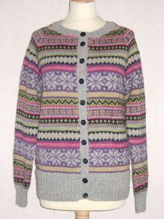 ga-strikkedesign.no | 1138 Damejakke med mønster | Norwegian inspired knitting ...