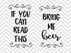 If You Can Read This Bring Me a Beer Socks SVG and DXF EPS Cut File • Cricut • Silhouette Dad Father's Day Grandpa Papa Silhouette projects Cricut projects - cricut ideas - cricut explore - silhouette cameo by Kristin Amanda Designs