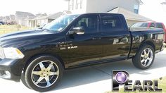 Pearl Nano Top Coat. Truck was in bad shape. Over sized tires that have killed the side with rocks. Before and After Pics Listed. This Pearl Nano Top Coat is no joke. Love it. - http://www.pearlnano.com/ #superhydrophobic #nanocoatings #ceramic #scratchresistant #nonsolvent #pearlnanoinstaller