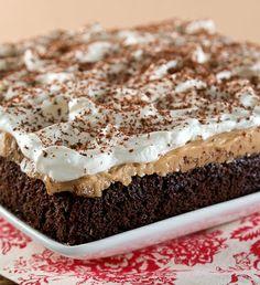 Chocolate Peanut Butter Pudding Poke Cake...OMG!!