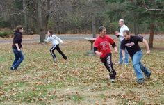 Youth Group Games- indoor and outdoor