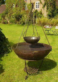 Welcome to Kadai Fire Bowls - firebowls, barbeque fire bowls and garden planters - www.kadai.com