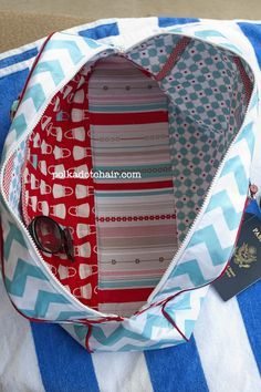 How to sew a travel bag