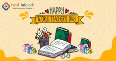 Life is a journey, and your words were the guiding star throughout. Happy Teacher's Day! World Teacher Day, World Teachers, Happy Teachers Day, Life Is A Journey, Teachers' Day, Digital Marketing Services, Software Development, Web Design, Star